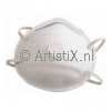 Dust mask with elastic cord